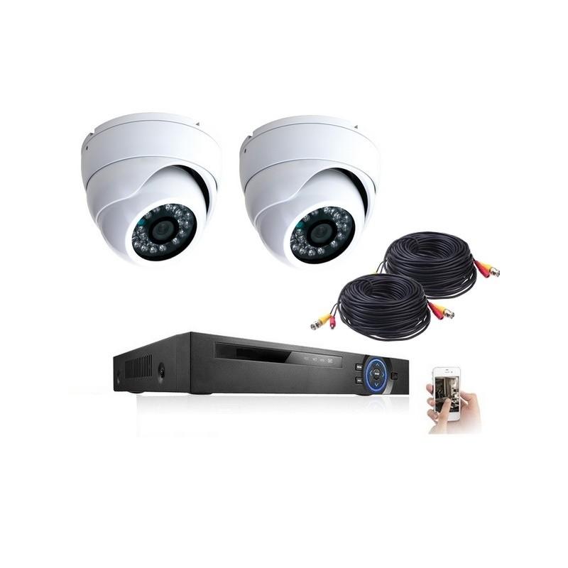 2 cameras tvl analogique