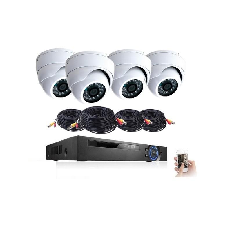 4 cameras analogique tvl